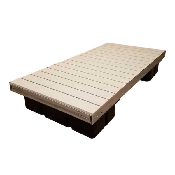 aluminum floating dock gray aluminum