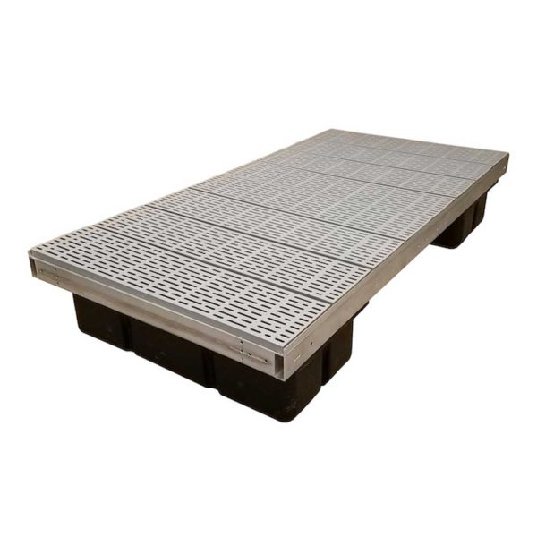 aluminum floating dock poly
