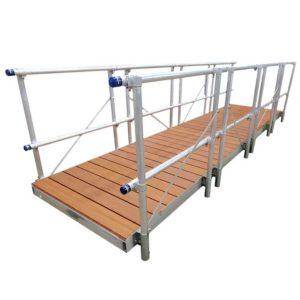 16ft gangway brown aluminum gangway
