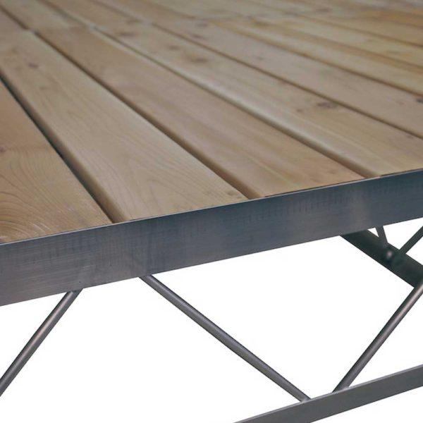 Cedar Decking Panel