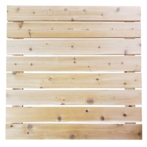 4x4 Cedar Dock Panels