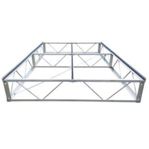 4x8 aluminum dock frame section
