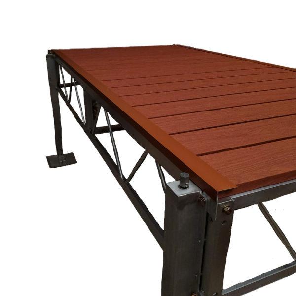 Aluminum Angle Trim - Brown