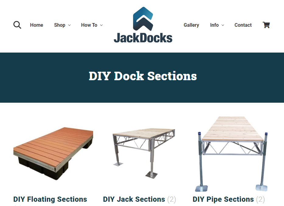 Jack Docks Sections